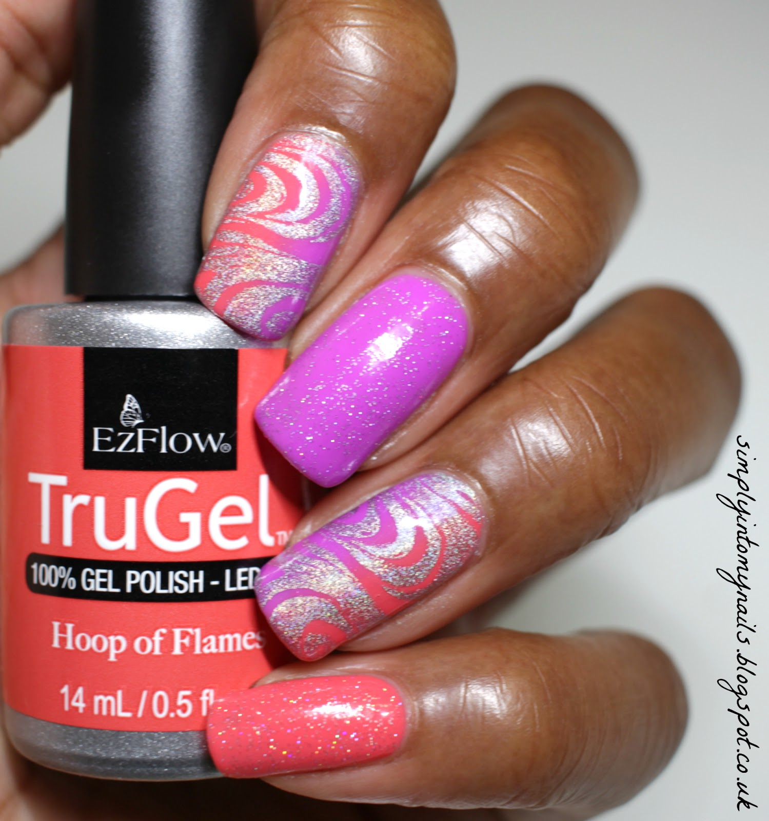 TruGel Hoop of Flames & Hypnotic Gradient | Simply Into My NAILS