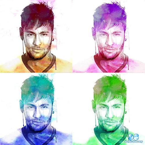 efek watercolor, tutorial photoshop, efek foto