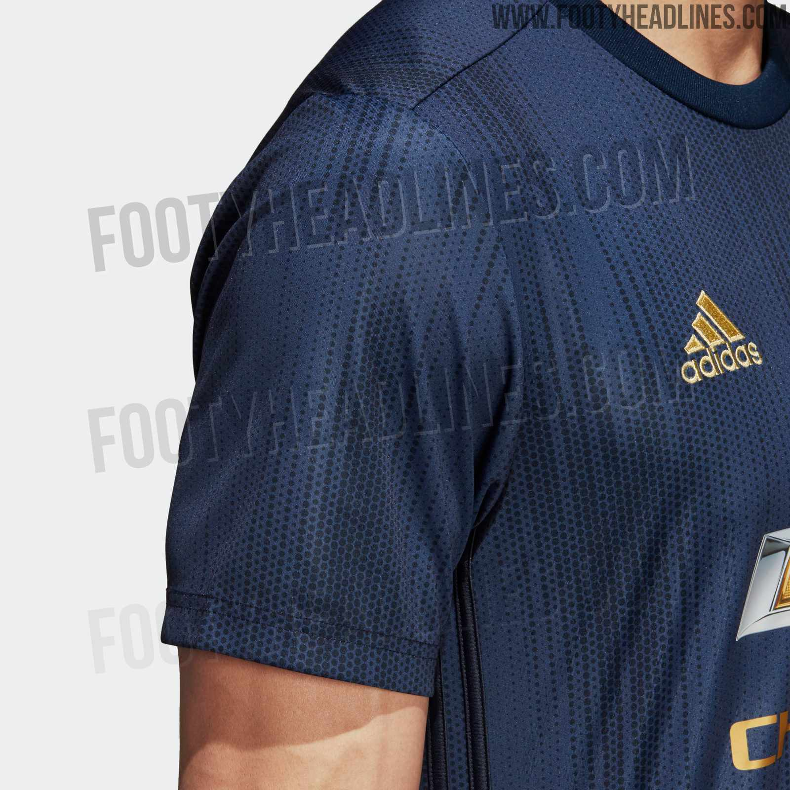 new concept bd746 626bf OFFICIAL Pictures: Manchester United 18-19 Third Kit Leaked ...