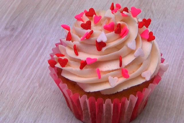Cómo hacer cupcakes de vainilla