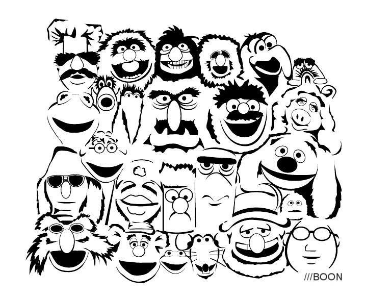 Mike BaBoon Design: Drawn Together
