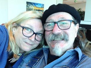 Carla Maxwell and Adrian Kosky in Melbourne, Victoria, Australia