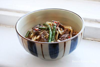 Rezept: Gebratene Udon in 5-Gewürze-Hoisin-Soße