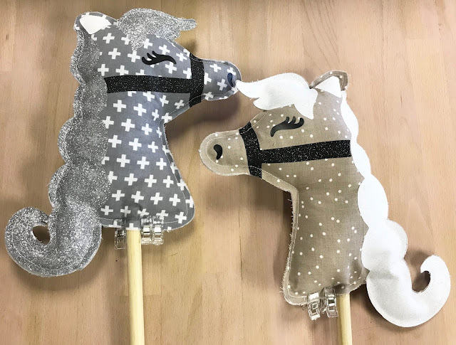Create your own DIY Stick Horse with Cricut!