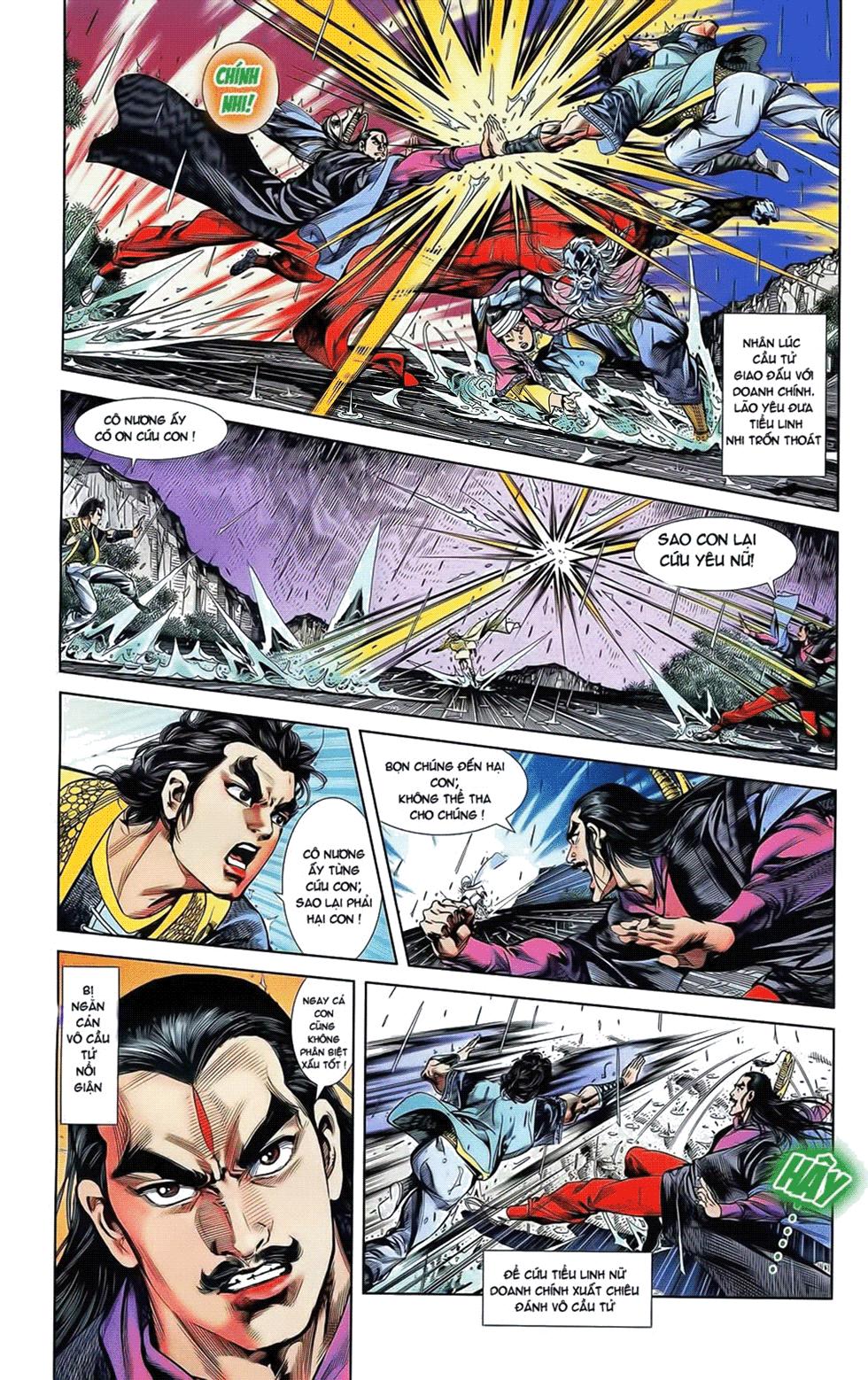 Tần Vương Doanh Chính chapter 19 trang 15