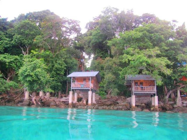 Indahnya Taman Bawah Laut di Pulau Rubiah