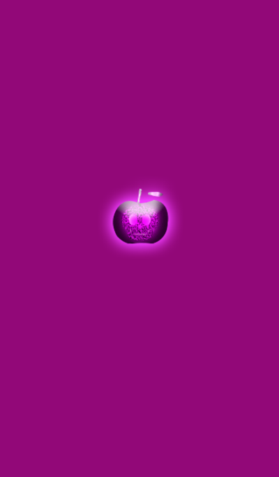Pink Skull Apple