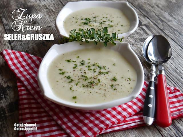 Zupa krem z selera i gruszki - Czytaj więcej »