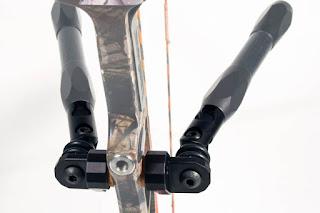 Les Stabilisations Dead Center Archery - La gamme Diamond Series Double%2Briser%2Bmount