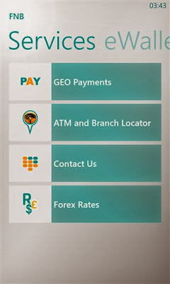 FNB (First National Bank) for Windows Phone