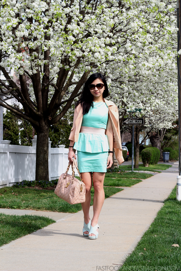 Crazy for Pastels : Mint & Blush