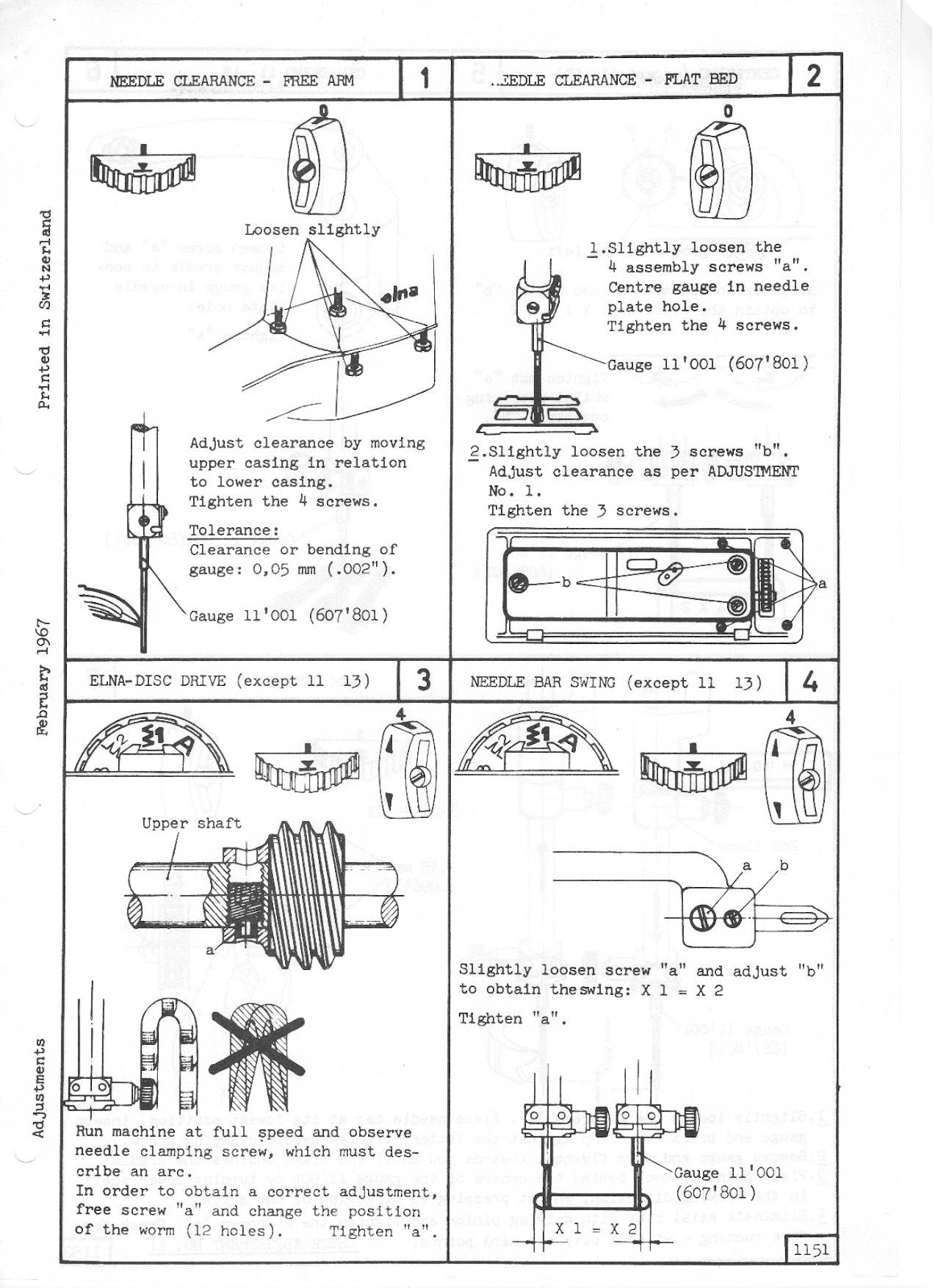 Absolute Sewing Machine Information