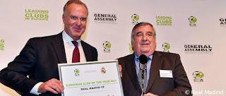 El Real Madrid nombrado Club del Año