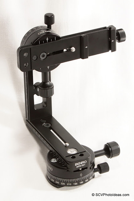 Compact Benro Multi Row Panorama Head assembly overview