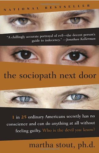 Book Review 'The Sociopath Next Door' by Martha Stout #Sociopaths