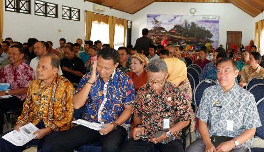 Sekda Buka Sosialisasi, Dana Desa Dan TP4D