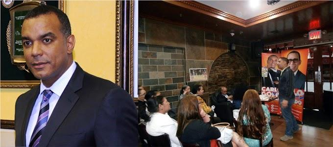 Carlos Gómez, del empresario al candidato de mayor simpatía en el exterior