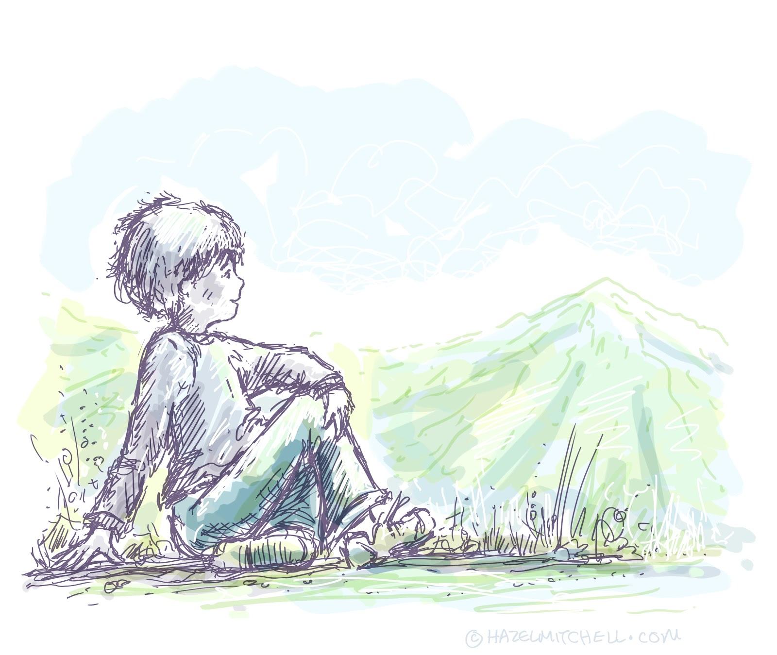 Childrens publishing blogs drawing digitally blog posts