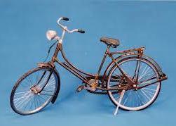 Miniatur sepeda onthel