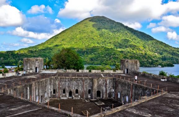 Menelusuri Sejarah Benteng Belgica di Pulau Banda Provinsi Maluku