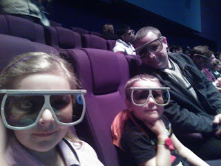 Waiting for the IMAX film to start