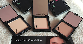 verdebio defa cosmetics silky foundation