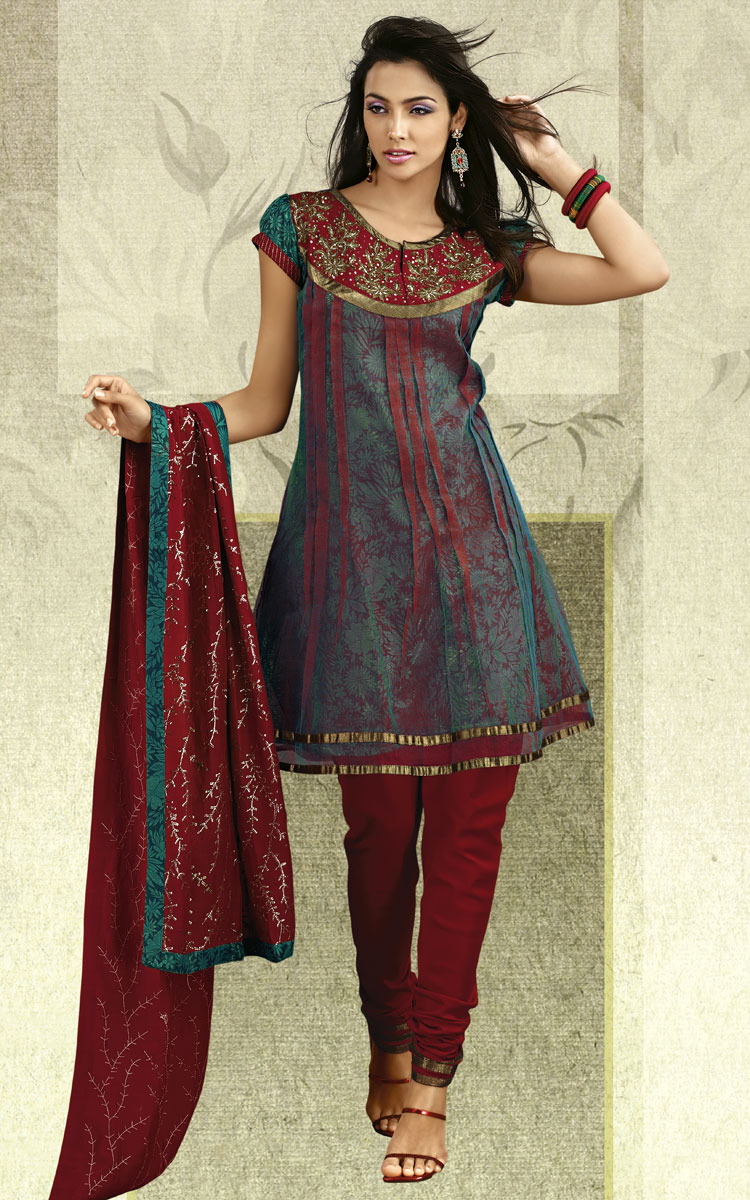 Pink Background Beautiful Pakistani Girls In Salwar -5751