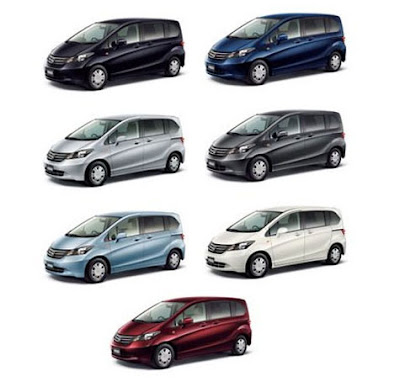 Pilihan Warna Honda Freed