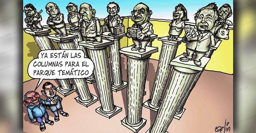 Carlincaturas Domingo 1 Julio 2018 - La República
