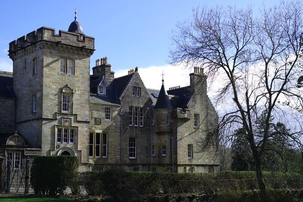 écosse highlands île mull torosay castle château craignure