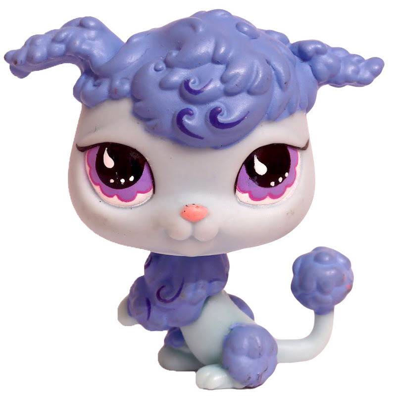 Littlest Pet Shop Gift Set Poodle 591 Pet LPS Merch