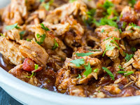 Crock Pot 3-Ingredient Balsamic Chicken