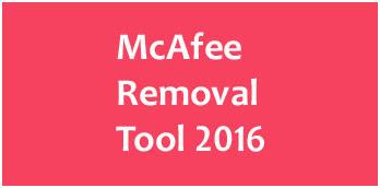 Mcafee removal tool windows 10