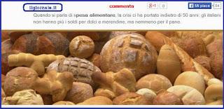 soldi nemmeno per il pane.
