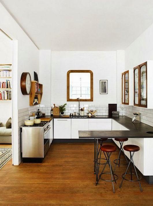 cocina vintage casa campo