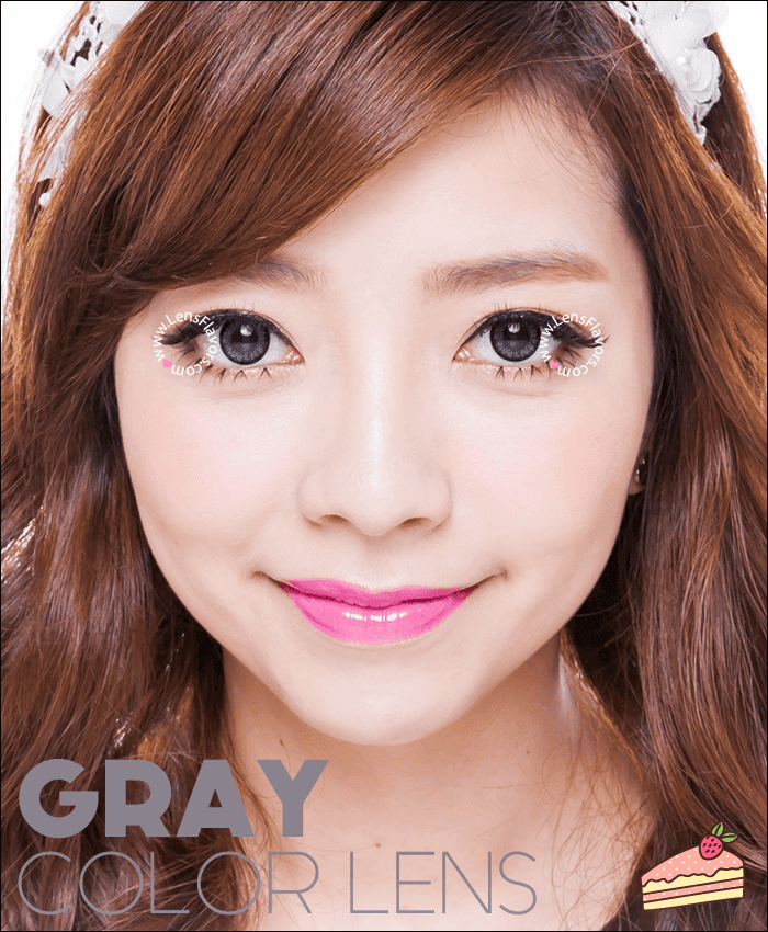 geo angel gray	 colored contacts