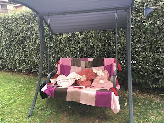 couette chouette pour le jardin ou le canapè à faire soi même