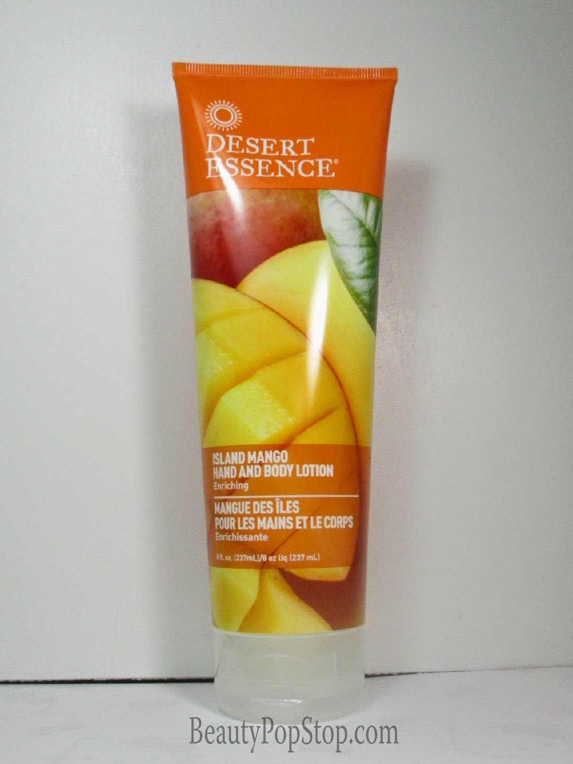 desert essence island mango hand and body lotion review