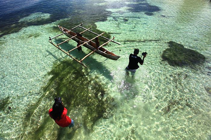 pantai bosnik papua