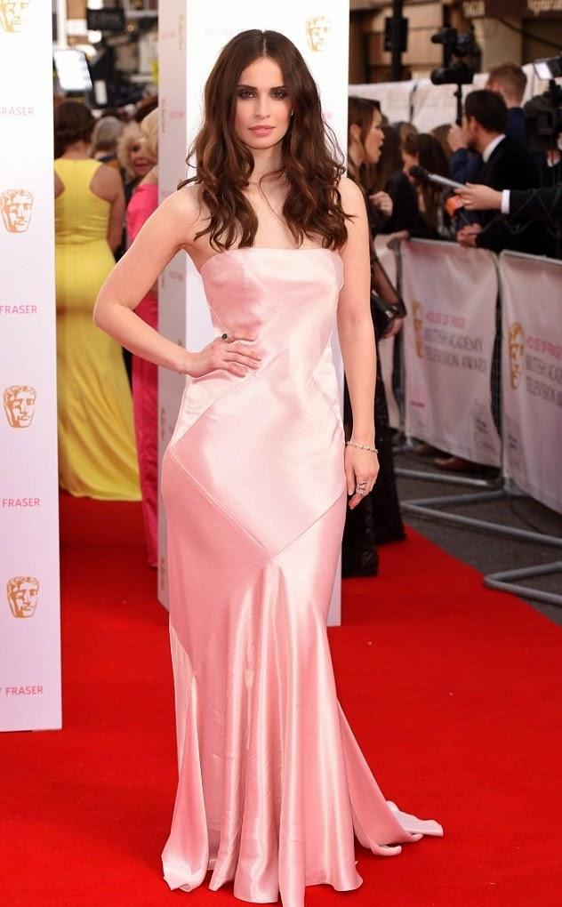 TV BAFTA awards- Best dressed, Heida Reed