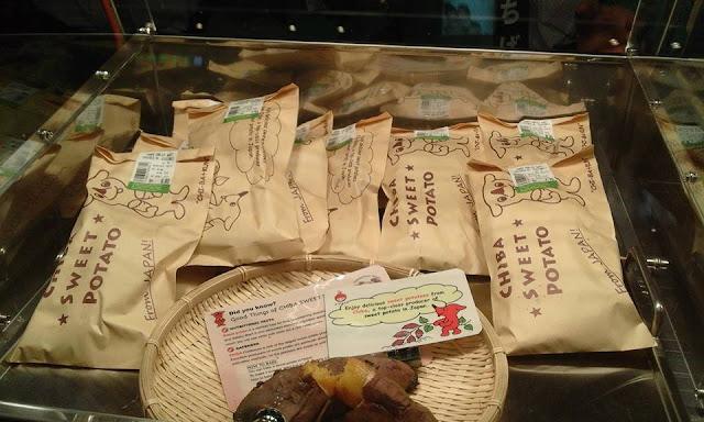 Chiba Sweet Potato dari Jepun
