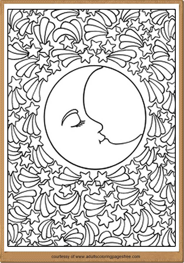 Planet Coloring Pages Adults Printable Nature