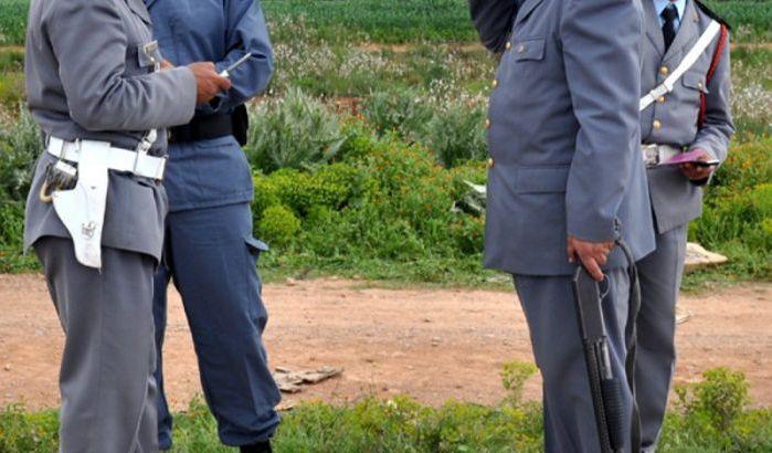 6 gendarmes Marocains en prison pour trafic de drogue.