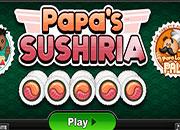 Cocina en: Papa's Sushiria