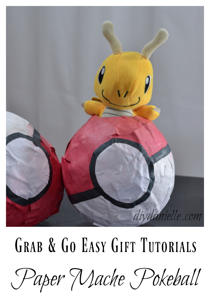 How to make a Paper Mache Pokeball!