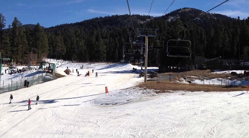 Onde esquiar na calif rnia dicas da calif rnia for Cabine di noleggio in big bear ca