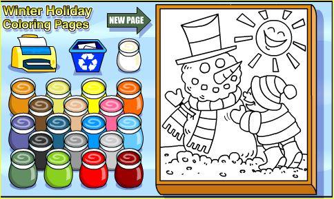 Jugando y aprendiendo juntos: 5 Dibujos de Navidad para colorear