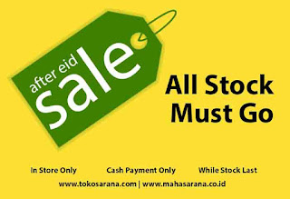 After Eid Sale. All Stock Must Go.