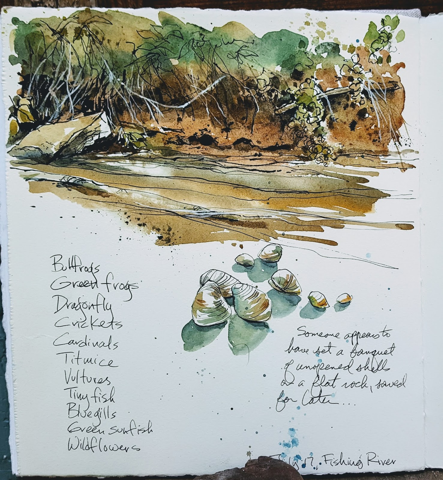 Watercolor artist magazine review - Being There