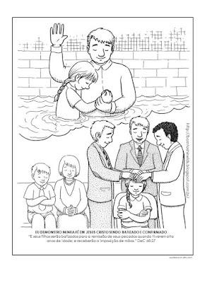 Resultado de imagem para batismo born to shine lds